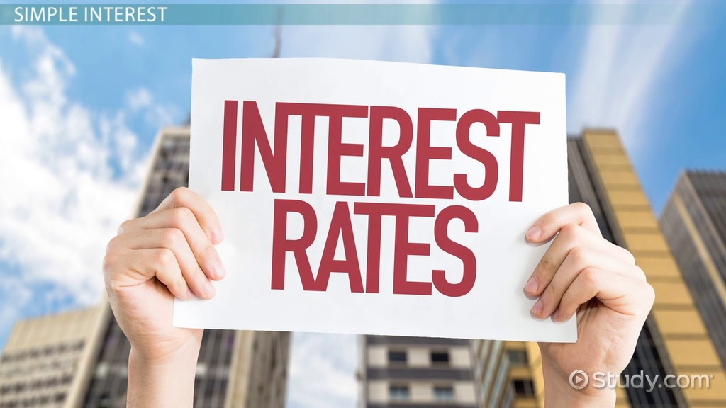How To Find Simple Interest Rate Definition Formula Examples