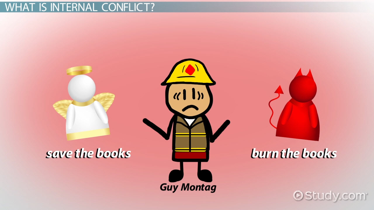 internal conflict definition types example video lesson what is internal conflict in literature