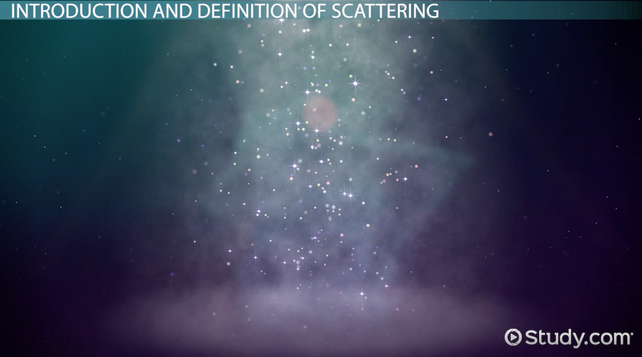 what is scattering  - definition  u0026 examples