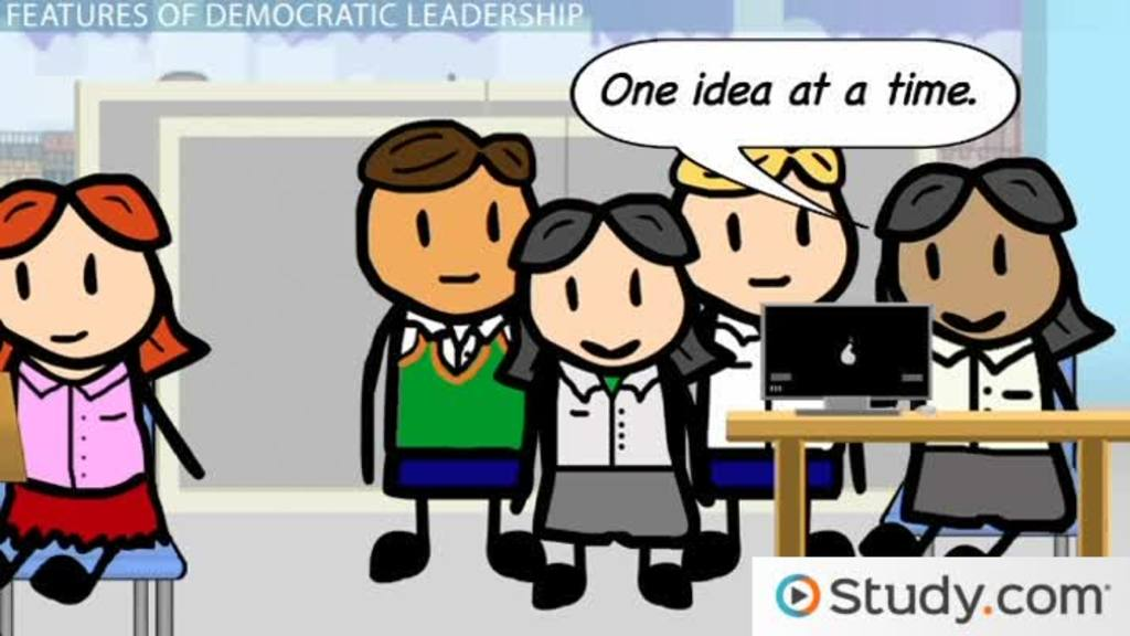 Collaborative Theory Of Classroom Management ~ Democratic leadership clip art cliparts