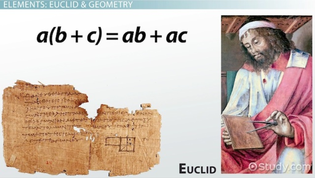 who is euclid biography contribution theorems video  who is euclid biography contribution theorems video lesson transcript com