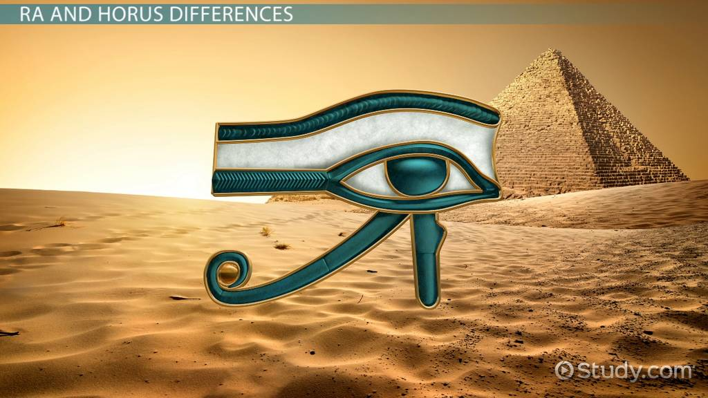 difference between the eye of ra  u0026 the eye of horus