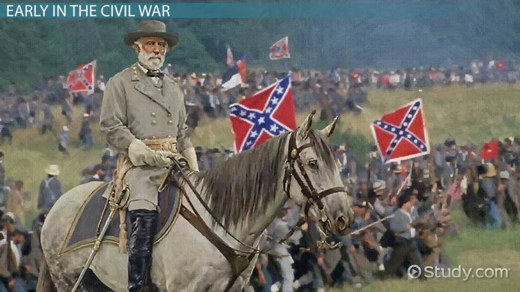 Robert E Lee S Civil War Strategy Video Amp Lesson