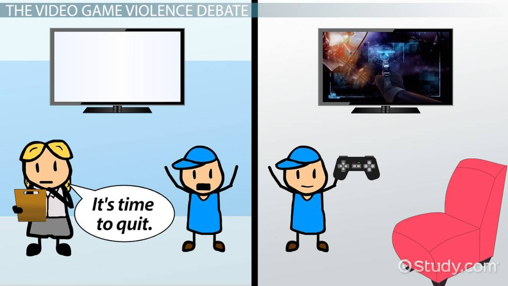 Do violent video games cause behavior problems